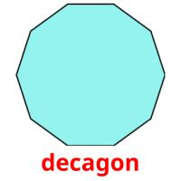 decagon picture flashcards