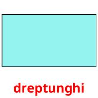 dreptunghi picture flashcards