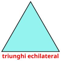 triunghi echilateral picture flashcards