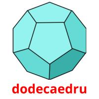 dodecaedru picture flashcards