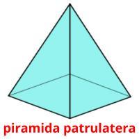 piramida patrulatera picture flashcards