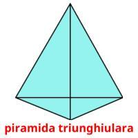 piramida triunghiulara picture flashcards