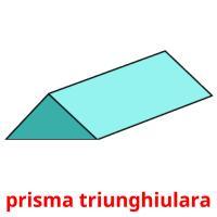 prisma triunghiulara picture flashcards