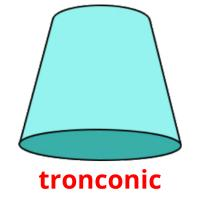 tronconic picture flashcards