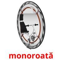 monoroată picture flashcards