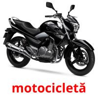motocicletă picture flashcards
