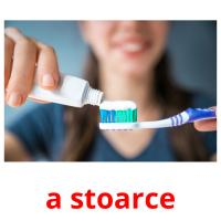 a stoarce picture flashcards