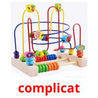 complicat picture flashcards