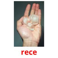 rece picture flashcards