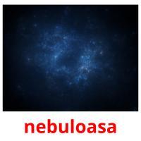 nebuloasa picture flashcards