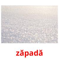 zăpadă picture flashcards