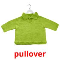 pullover picture flashcards