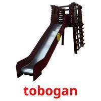 tobogan picture flashcards