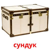 сундук picture flashcards