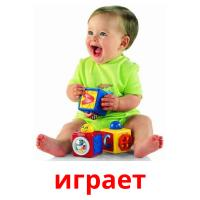 играет picture flashcards