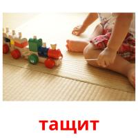 тащит picture flashcards
