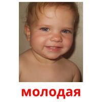 молодая picture flashcards
