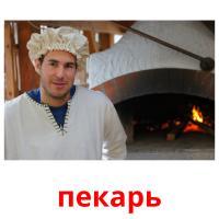 пекарь picture flashcards