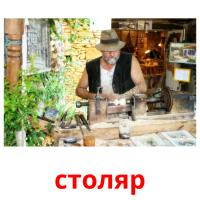 столяр picture flashcards