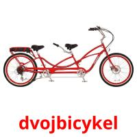 dvojbicykel picture flashcards
