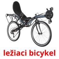 ležiaci bicykel picture flashcards