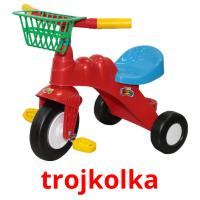 trojkolka picture flashcards