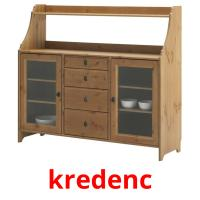 kredenc picture flashcards