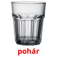 pohár picture flashcards