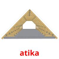 atika picture flashcards