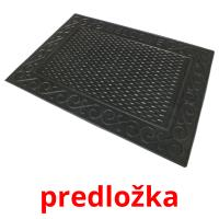 predložka picture flashcards