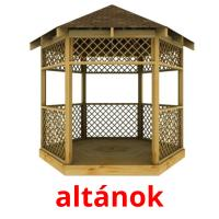 altánok picture flashcards