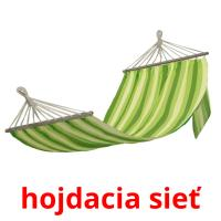 hojdacia sieť picture flashcards