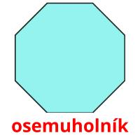 osemuholník picture flashcards