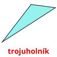 trojuholník picture flashcards