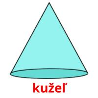 kužeľ picture flashcards