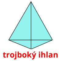 trojboký ihlan card for translate