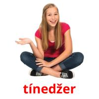 tínedžer picture flashcards