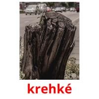 krehké picture flashcards