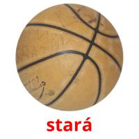 stará picture flashcards