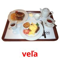 veľa picture flashcards