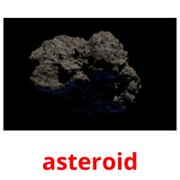 asteroid picture flashcards