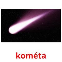kométa picture flashcards