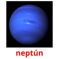 neptún picture flashcards