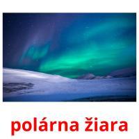 polárna žiara picture flashcards