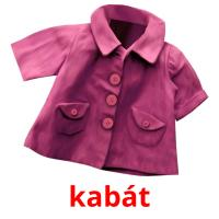 kabát picture flashcards