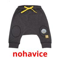nohavice picture flashcards