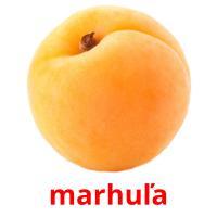 marhuľa picture flashcards