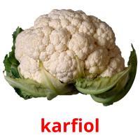 karfiol picture flashcards