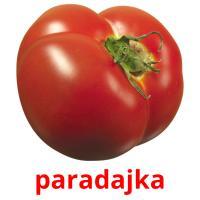 paradajka picture flashcards