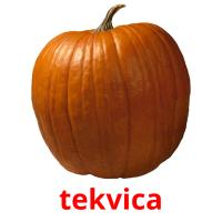 tekvica picture flashcards